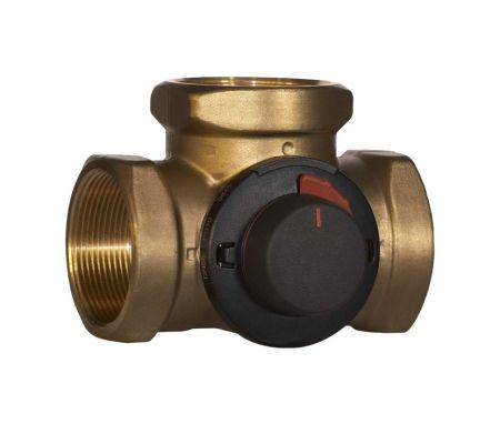 vrg 131 40-25 rp 1 1/2 3-х ходовой смесительный клапан смесительный узел shuft VRG 131 40-25 RP 1 1/2 3-х ходов